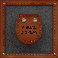 visual display button